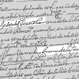 Handwritten document in Spanish