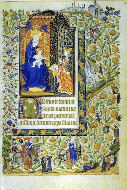Image of Book of Hours of Marguerite d'Orléans from western France around 1430