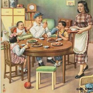 Thumbnail of poster of family eating at a table