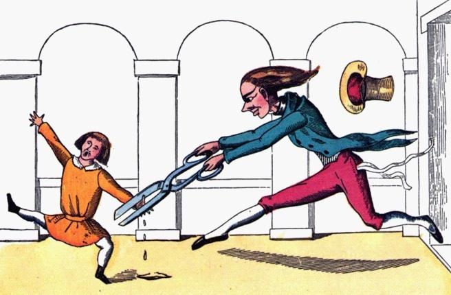 Illustration of children's book scene