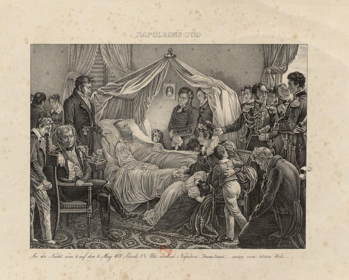 The Death of Napoleon on St. Helena
