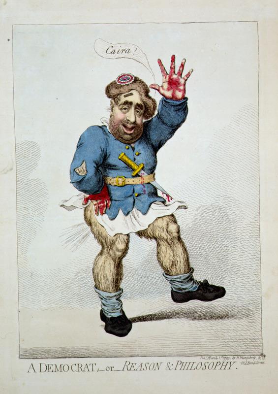 Cartoon of British caricature