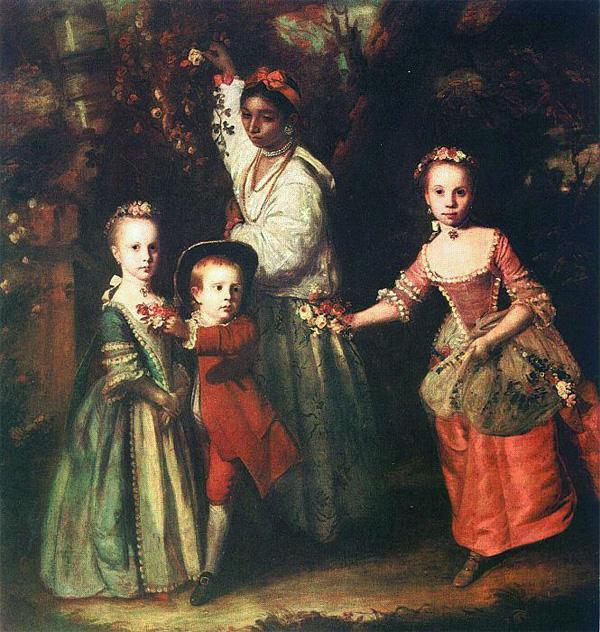 The Children of Edward Holden Cruttenden painting