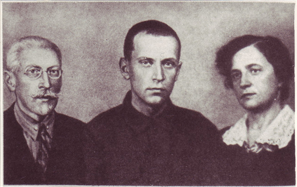 Dmitrii Likhachev and Family