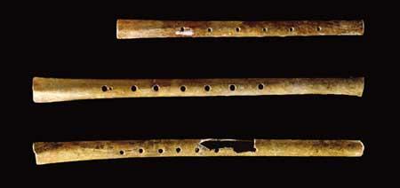 Neolithic bone flutes