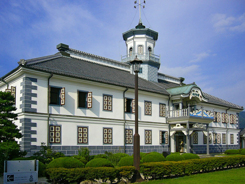 Side view of former Kaichi School