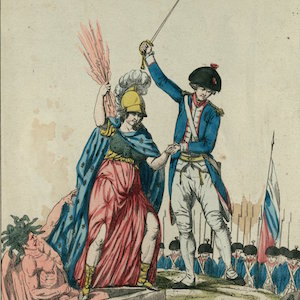 With the Help of Mr. de la Fayette, the French Nation Defeats Despotism