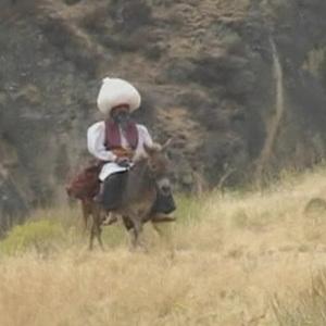 Image of Goha on a donkey image thumbnail