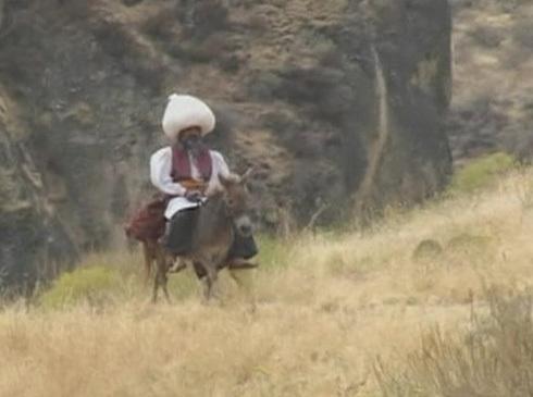 Image of Goha on a donkey
