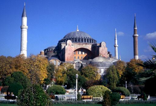 Photograph of the Hagia Sophia