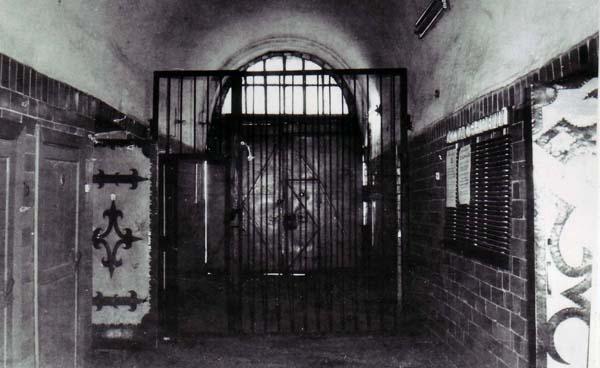 Photograph of prison hallway