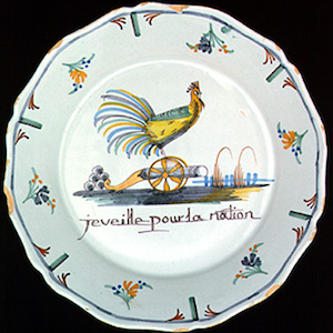 Plate: I Watch over the Nation