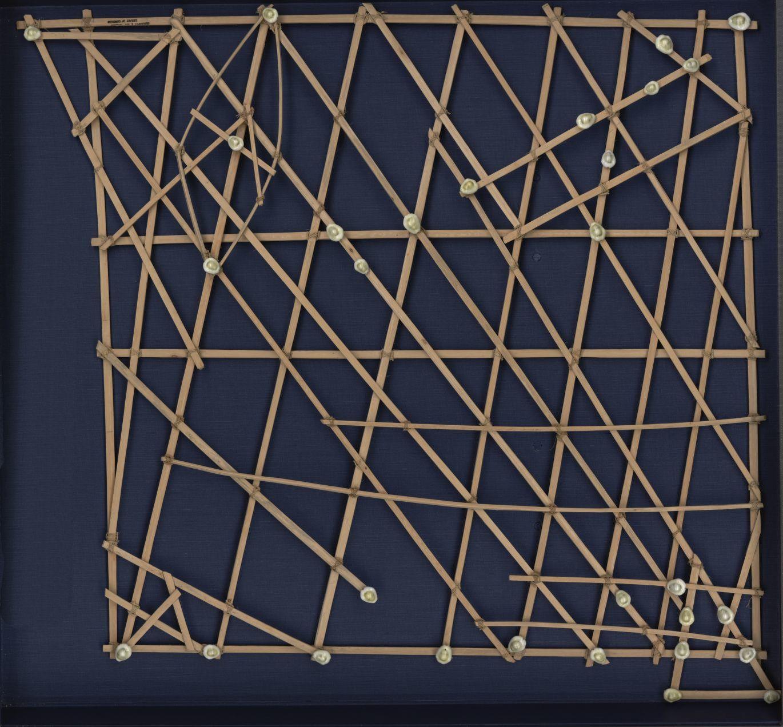 Marshall Island Stick Chart, ca. 20th century.
