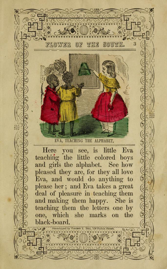 Little Eva, The Flower of the South page