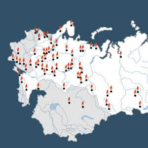 Memorial Society Map