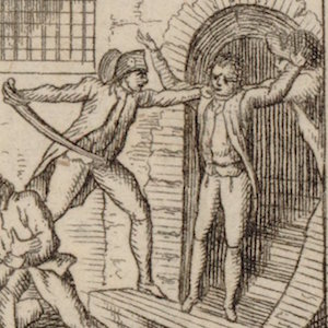 Thumbnail of attack on prisoners