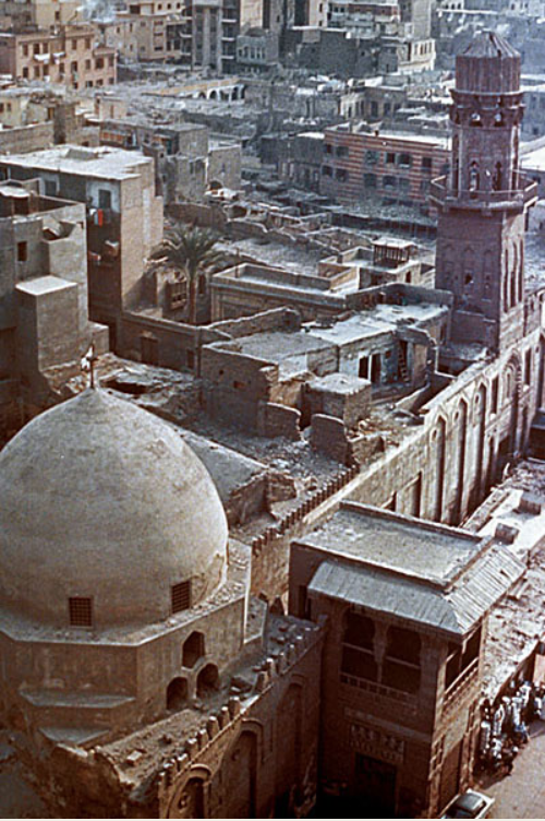 Mausoleum of Salih Najm al-Din Ayyub in Cairo