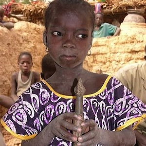 Thumbnail photograph of girl from Burkina Faso