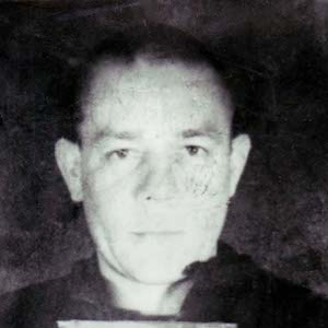 Black and white arrest photograph of S. Iuzefovich