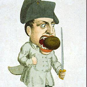Napoleon Is Unable to Digest Leipzig