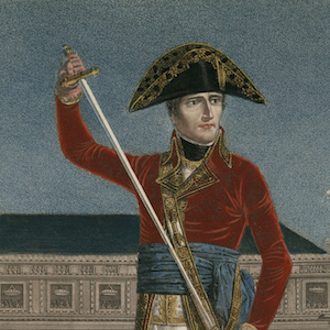 Bonaparte, First Consul, Putting Away His Sword after the General Peace