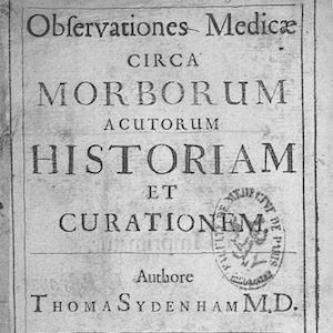 Title page of Observationes Medicae