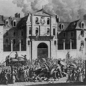 Pillage of the St. Lazare House