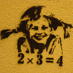 Thumbnail of graffiti image of girl