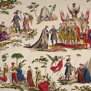 Printed Cloth of the Directory and Napoleon