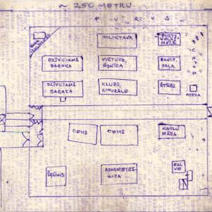 Prison Plan of Perm-36
