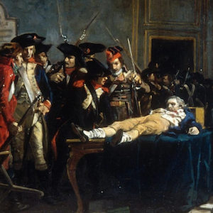 Robespierre 10 Thermidor painting