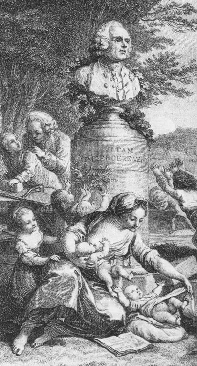 Engraving of Emile
