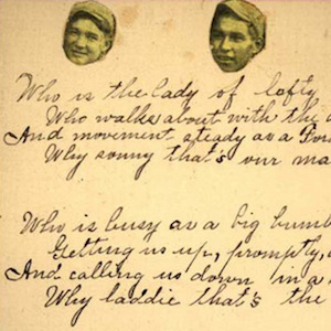 Christmas Poem, Pima Indian School image thumbnail