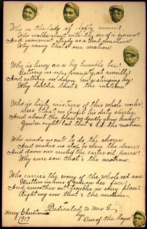 Christmas Poem, Pima Indian School