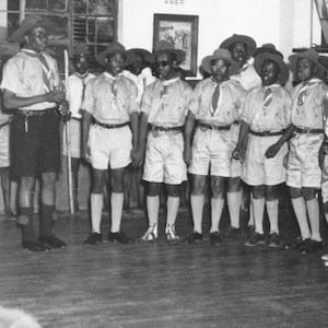 Image of photo of scouts