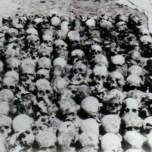 Photograph of Skulls at Donetsk