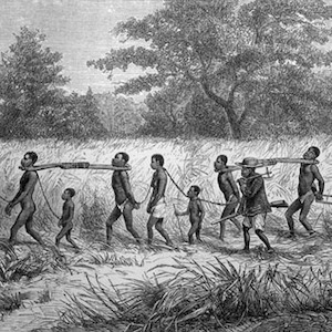 Thumbnail of drawing captive Africans