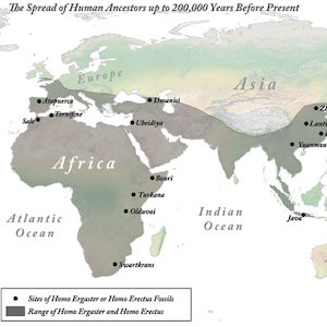 Spread of humanity map thumbnail