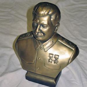 Bust of Josef Stalin