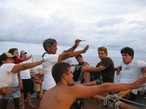 thumbnail of the teaching of the traditional Polynesian navigation