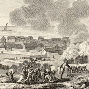 The Cap Français Fire
