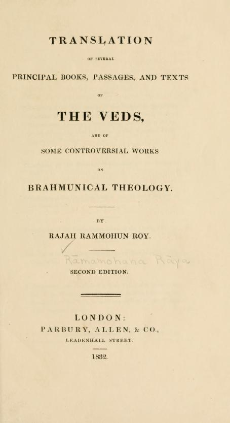 Title page of Translation of Several Principal Books