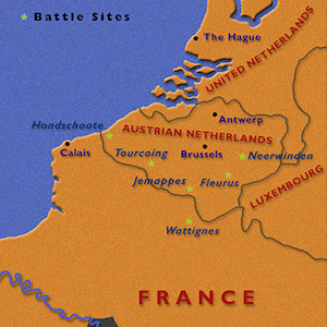 War in the Netherlands—1792–94