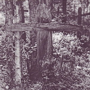 Photograph of wooden crosses