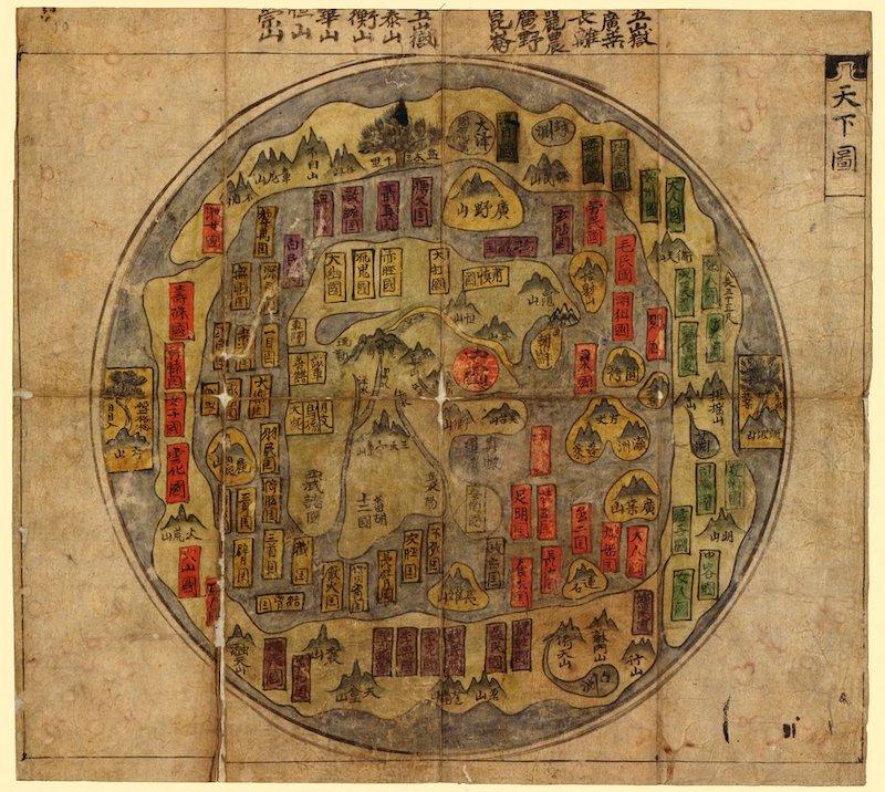 Korean world map