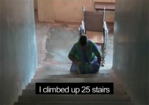 """Video still of """"Steps"""""""